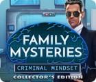 เกมส์ Family Mysteries: Criminal Mindset Collector's Edition