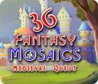 เกมส์ Fantasy Mosaics 36: Medieval Quest